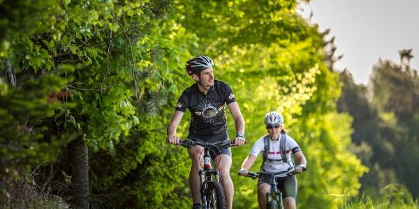 Aussichtsreiche Mountainbike-Tour