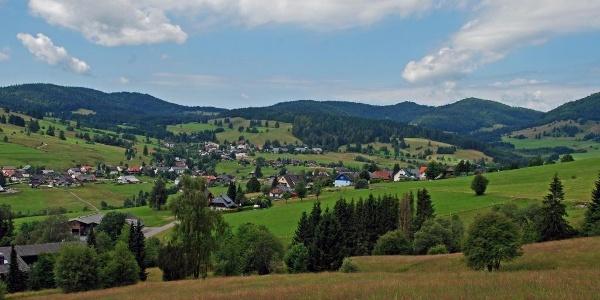 Über dem Tal der Bernauer Alb
