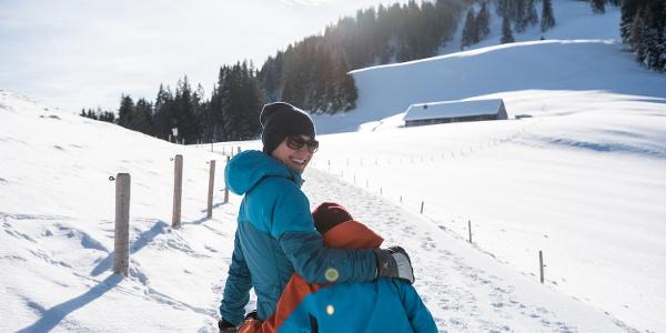 Winterurlaub in Ofterschwang im Allgäu