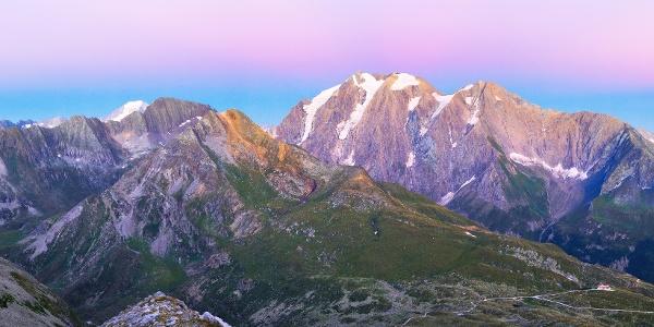 Farbenspiel in der Bergwelt rund ums Pfitscher Joch