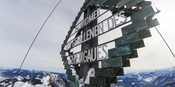 Gipfelkreuz Kampenwand Ostgipfel