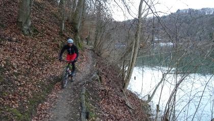 0300 Typische Fahrstimmung dem Rhein entlang