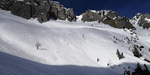 Stumpfmauer Südrinne