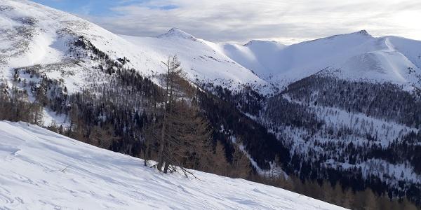 Steinnock 2197m und Falkert 2308m