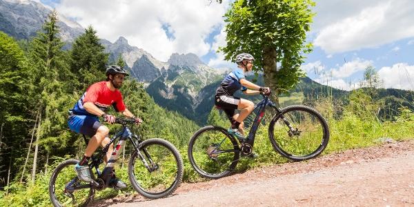E-Biken in Saalbach
