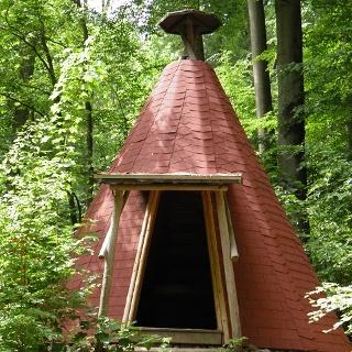 Köhlerhütte im Breiten Grund