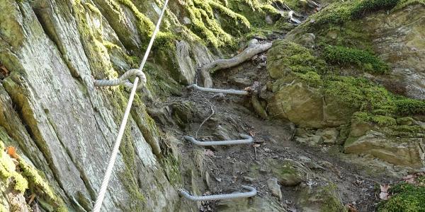 Klettersteig zum Goethepunkt