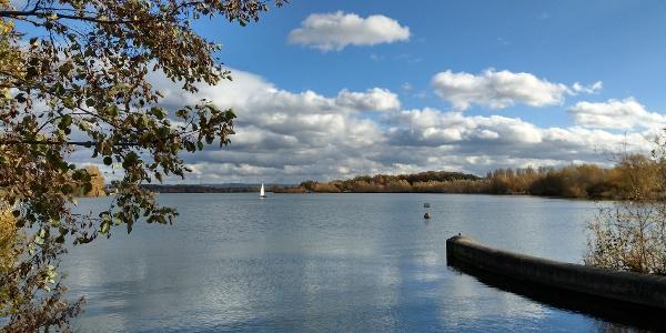 Blick über den Lippesee