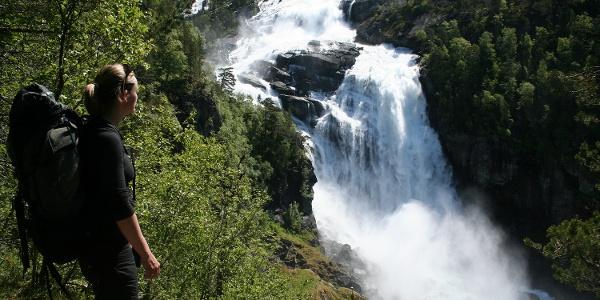 Husedalen Water Fall