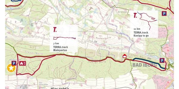 TERRA.track Malepartus - Auszug der Schautafel am Naturpark-Wanderparkplatz Malepartus