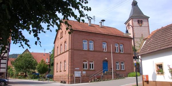 Ortsmitte von Rumbach