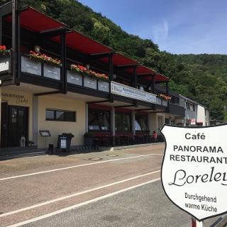 Außenansicht Panorama Restaurant Loreley