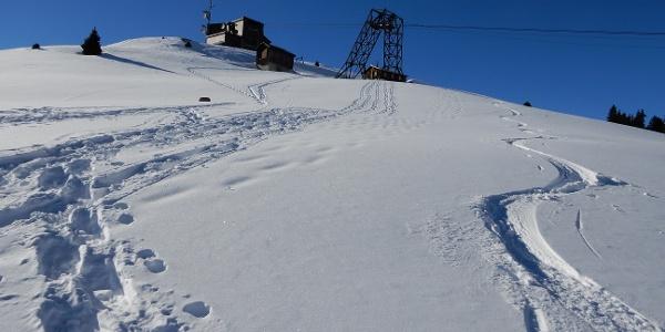 Bergstation Tgom in Sicht