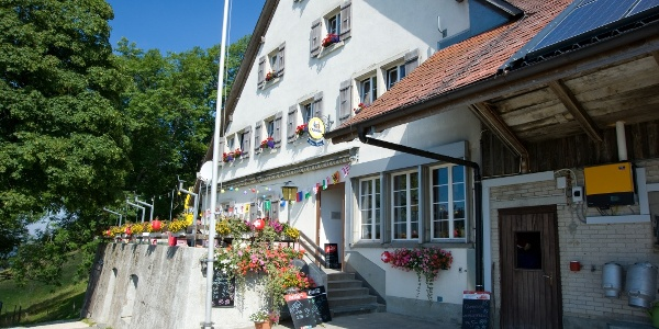 Bergrestaurant Hinterweissenstein.