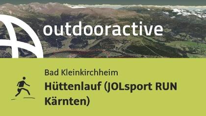 Trailrunning-Strecke: Hüttenlauf (JOLsport RUN Kärnten)