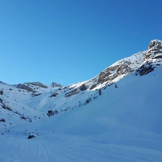 Taleinwärtssicht zur Brunnkarspitze