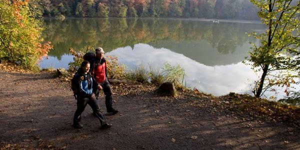 Wanderung am Bergsee