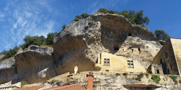 Cave Houses built into the cliffs