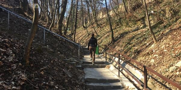 Józsefhegyi lépcső