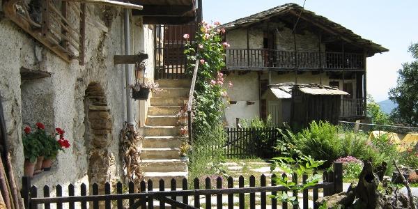 San Maurizio (Gemeinde Frassino) wird auf dieser Etappe gestreift.