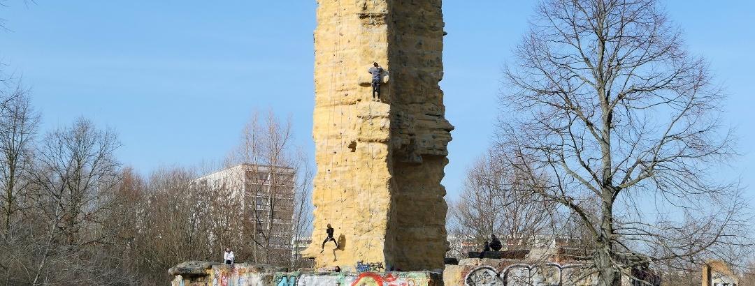Wuhletalwächter, Kletterturm der Sektion AlpinClub Berlin