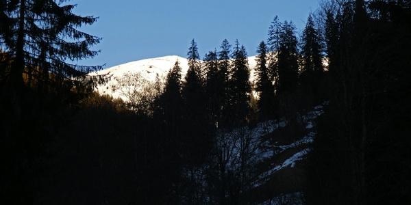 Das Hinkareck im ersten Morgenlicht