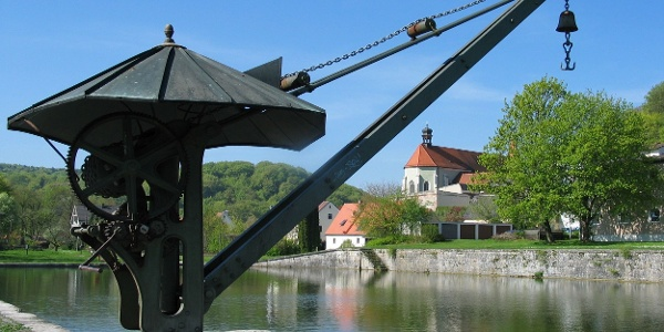 Alter Hafen in Kelheim