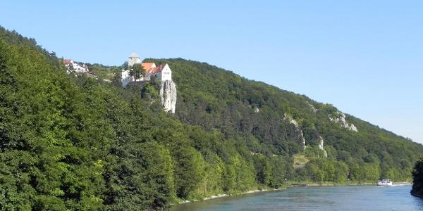 Burg Prunn zwischen Essing und Riedenburg