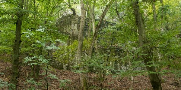 Az Öreg-kő sziklás vidékén