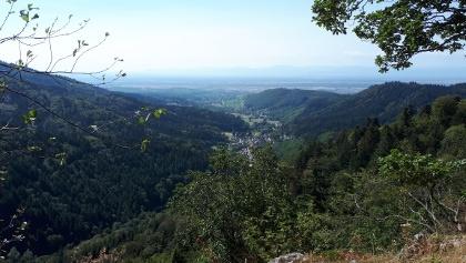 Blick ins Weilertal
