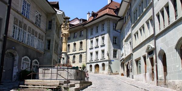 Unterstadt Fribourg.