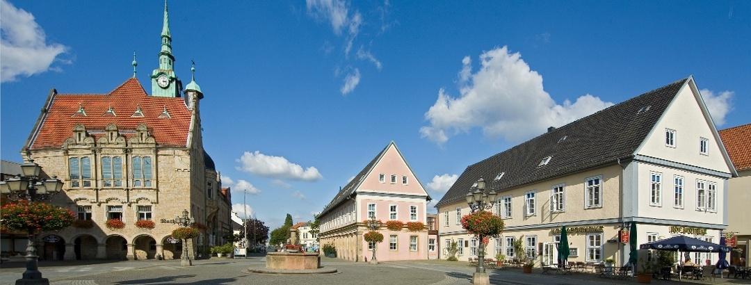 Marktplatz Bückeburg