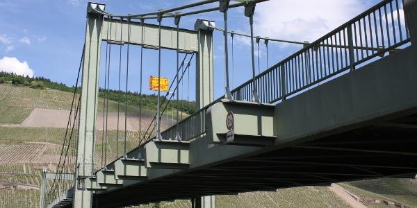 Hängebrücke bei Wehlen