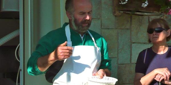 Gianfranco Martino (Azienda Agricola Martino), Käseproduzent in Becetto.