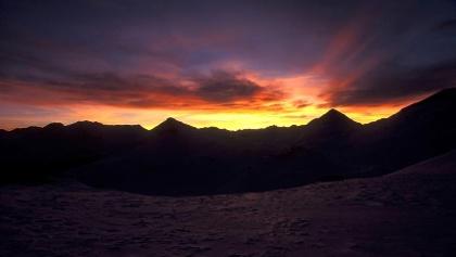 Sonnenaufgang Rötelspitz
