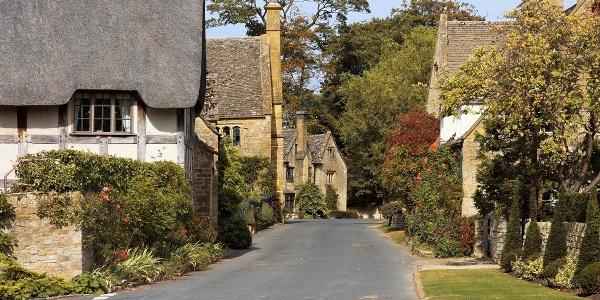 The idyllic village of Stanton