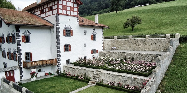 Garten Sprecherhaus Luzein