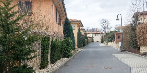 """Start an der """"Toscana-Siedlung"""" nahe der Südhöhe"""