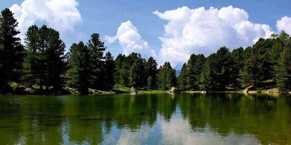 Der Lago di Bagnour im Naturpark Monviso.