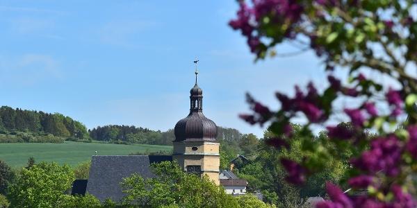 Blick auf die Salvatorkirche