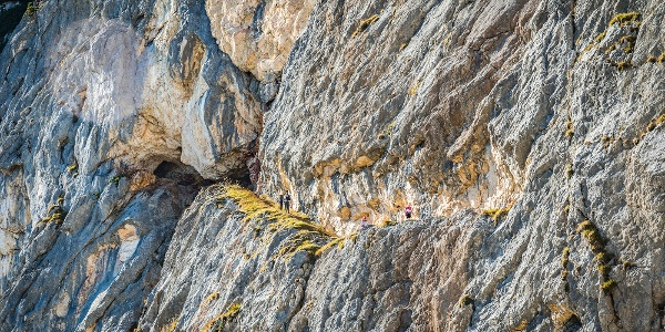 In den Fels gehauen: Der Thomas Eder Steig am Untersberg