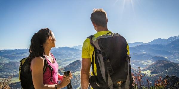 Aussichtreich unterwegs am Untersberg