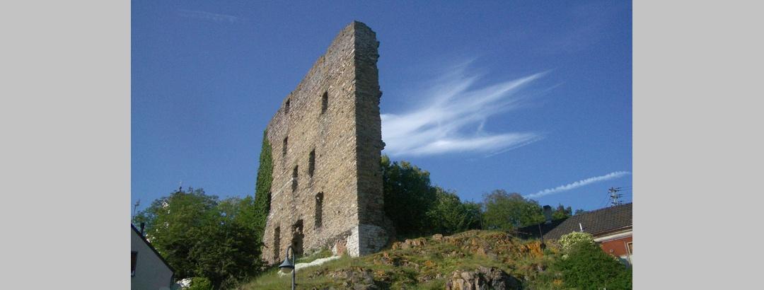 Reste der Burgmauer Oberneisen