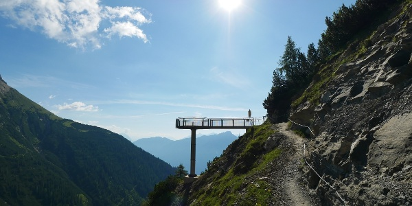 Bergtour im Tirol: Über die Platteinspitzen