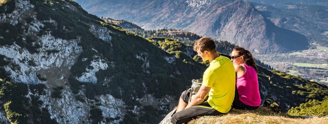 Aussicht vom Untersberg nach Norden