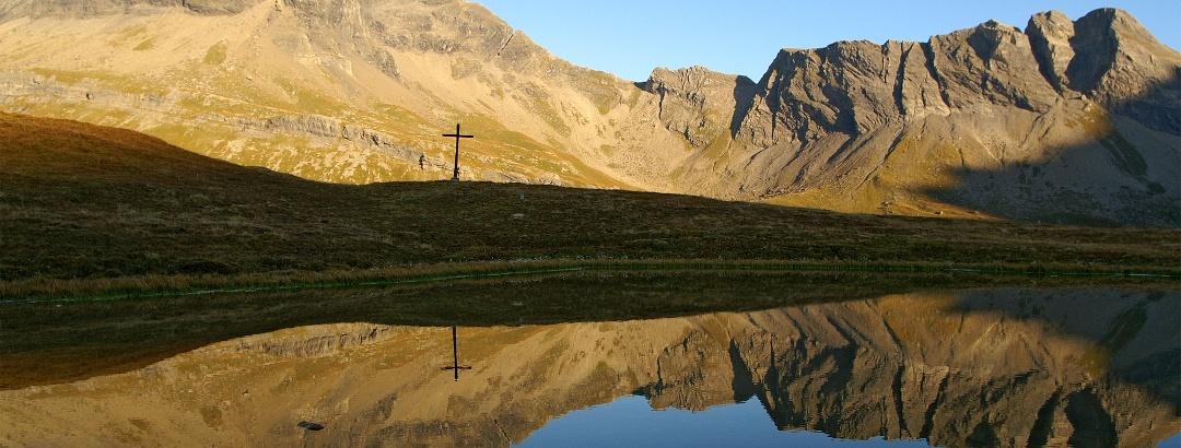 See auf dem Sanetschpass.
