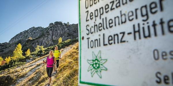 <![CDATA[Unterwegs zur Toni Lenz Hütte]]>