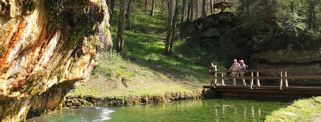 Wanderer auf dem Mullerthal Trail