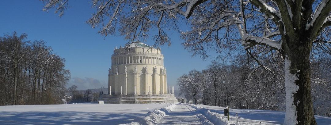 Befreiungshalle im Winter