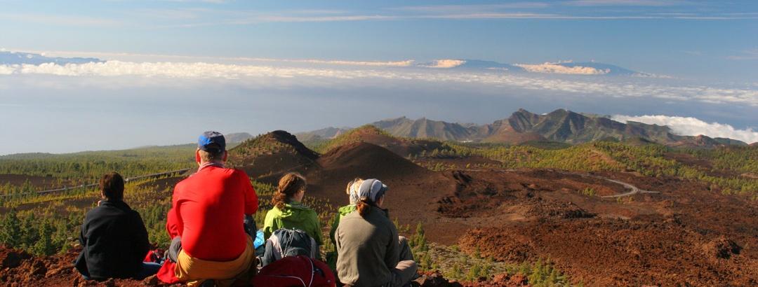 Blick von Teneriffa nach La Palma